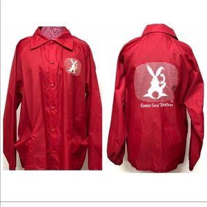 Vintage Easter Seals Telethon Windbreaker Jacket